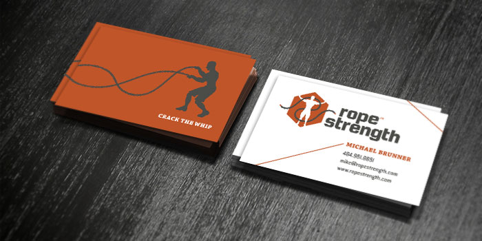 Rope Strength Business Cards